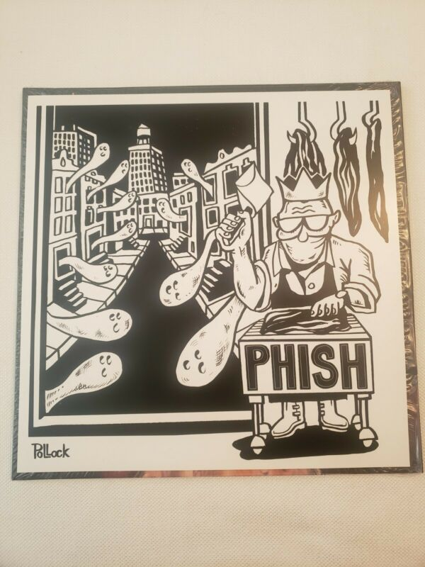Phish Poster Meat 2019 Jim Pollock Official Dry Goods Record Store Day