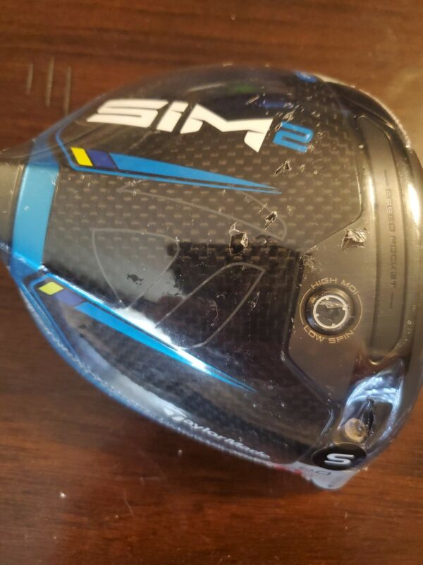 **NEW**  TaylorMade SIM2 Driver Head 9.0* HEAD ONLY RH Brand New In Plastic