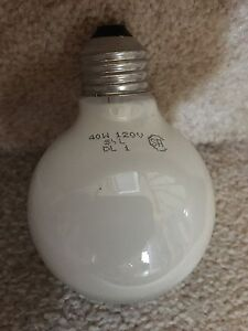 Round light bulbs 40w