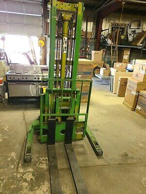 Used Clark Sp30 Fork Lift Walk Behind Electric Lift Truck Pallet Jack