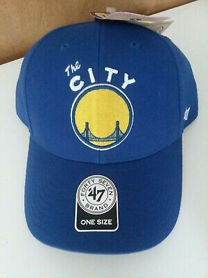 watch 38b69 160d7 NBA Golden State Warriors  The CITY  Hat,  47 brand, One Size, NEW