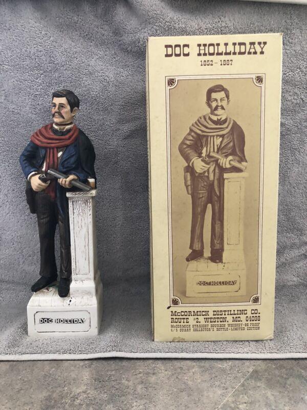 Doc Holiday decanter, with original box