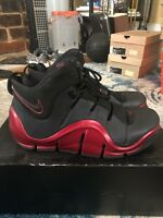 88d5fb611d68 Nike Zoom Lebron 4 IV Black Metallic Red Size 9 SEE PICS