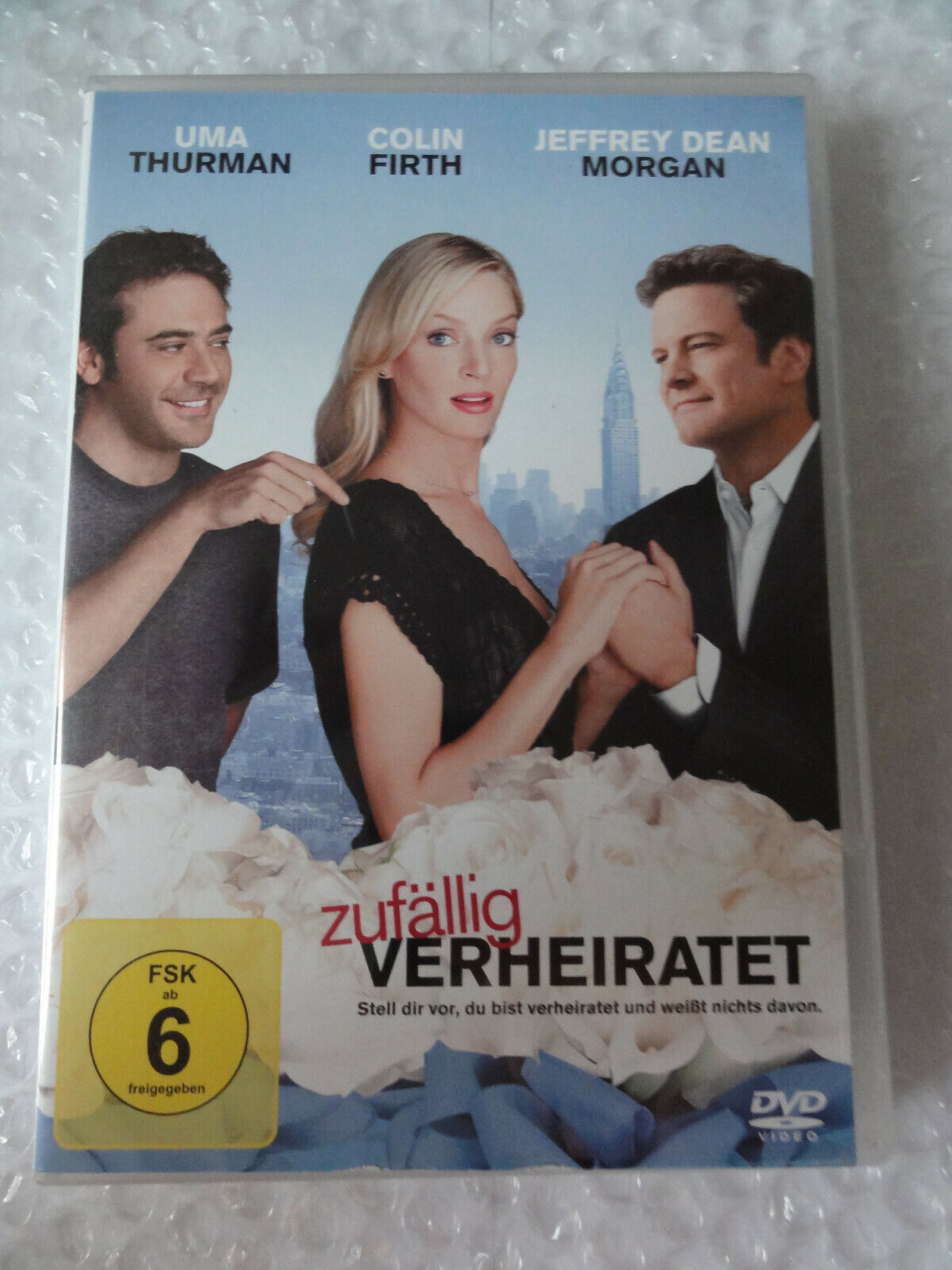 DVD ZUFÄLLIG VERHEIRATET mit Uma Thurman
