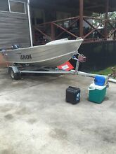 Quintrex FishNipper tinny 12ft long rego Medowie Port Stephens Area Preview