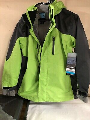 Iceberg Youth 3-in-1 Systems Coat With Removable Jacket Youth 14/16 Lime New