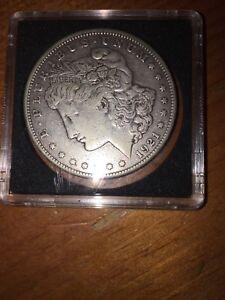 1921 US silver dollar SAN Francisco
