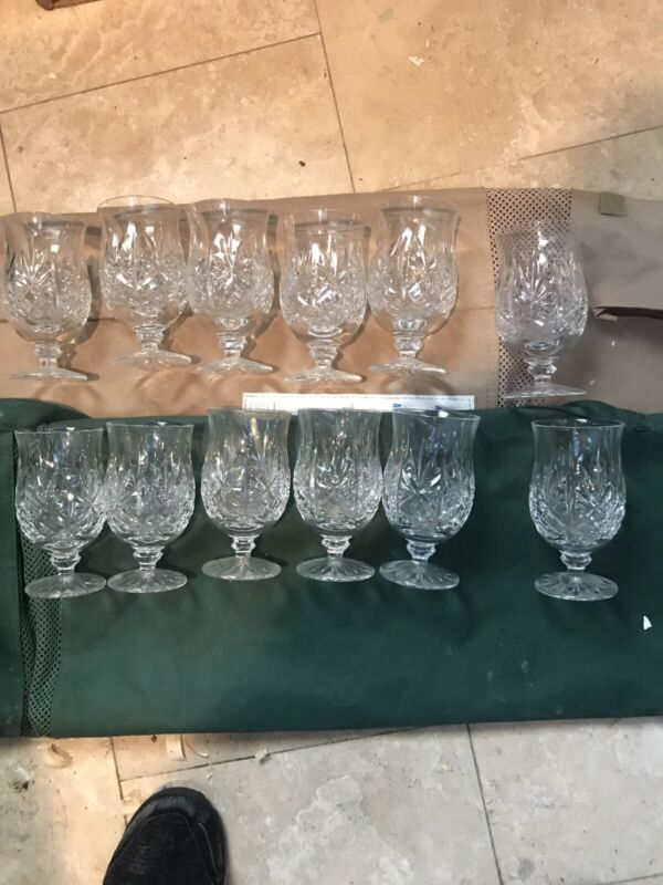Waterford Crystal Lismore Glasses 8 Oz, Qty 12