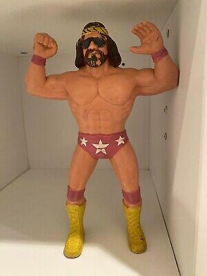 Vintage LJN WWF WWE Macho Man Randy Savage 1986 Wrestling Action Figure Titan