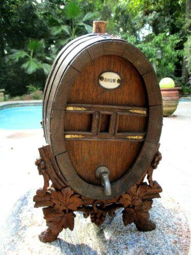 Antique Miniature Oak Rum Keg