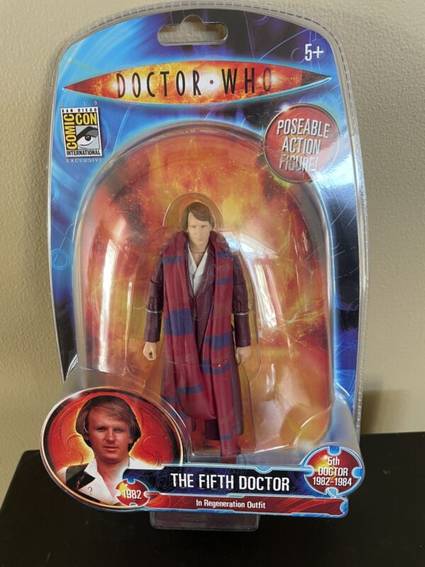 Doctor Who The Fifth Doctor Regeneration Outfit SDCC Comic Con Action Figure