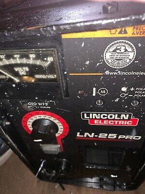 Lincoln Electric Welder Ln-25 Pro Wire Feeder