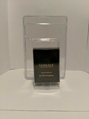 Versace Crystal Noir Women Mini Bottle 0.17 US fl .oz 5 Eau De Toilette