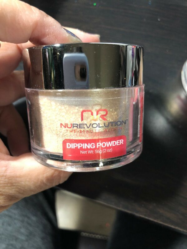 New And Sealed Nurevolution Dipping Powder 2oz #59c Wild Thoughts