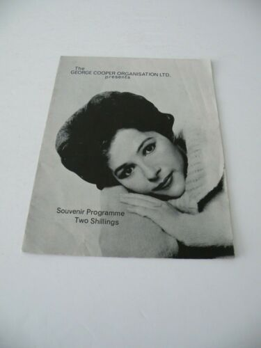 BRENDA LEE 1964 UK CONCERT TOUR PROGRAMME JOHNNY KIDD & PIRATES MINDBENDERS
