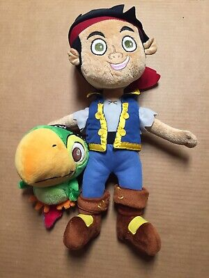 Lot Of 2 Jake and the Neverland Pirates Parrot Scully 8