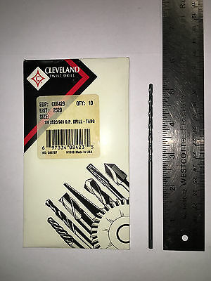 Cleveland 18 Taper Length Drill C08423 Lot Of 10