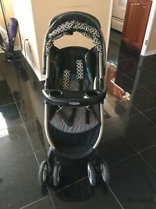 Graco Stroller 4 Wheeler with double wheels in front