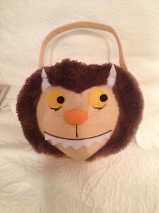 Where The Wild Things Are Halloween Treat Bag