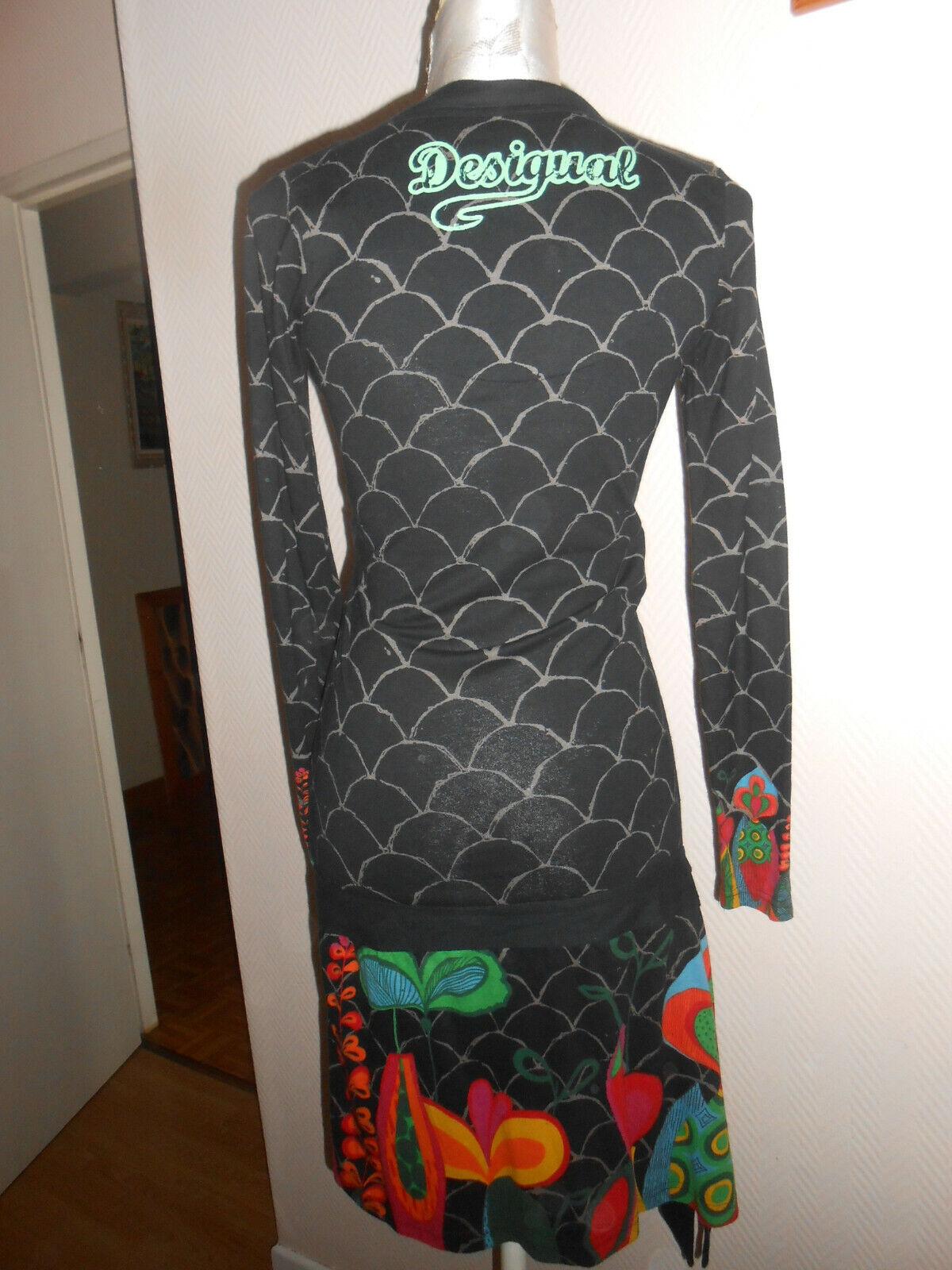 Robe colorée desigual taille s ou 36