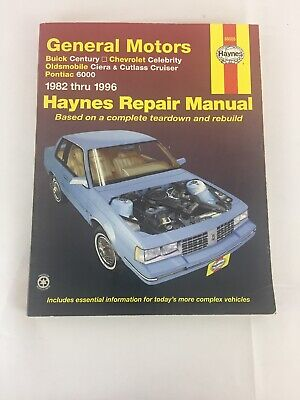 1996 General Motors - Haynes Repair Manual 1982-1996 General Motors ~ 38005 ~ PB G