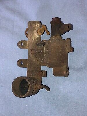 Antique Briggs Stratton Gas Engine Carburetor Model H Or T Hit Miss Fuel Mixer