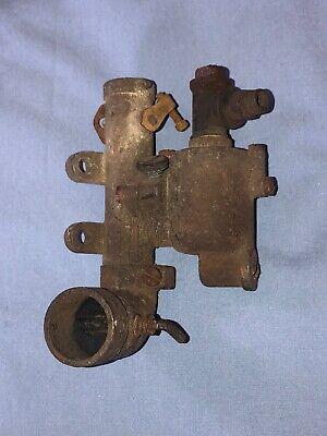Antique Briggs Stratton Gas Engine Carburetor Model H Or T Hit Miss Fuel Mixer