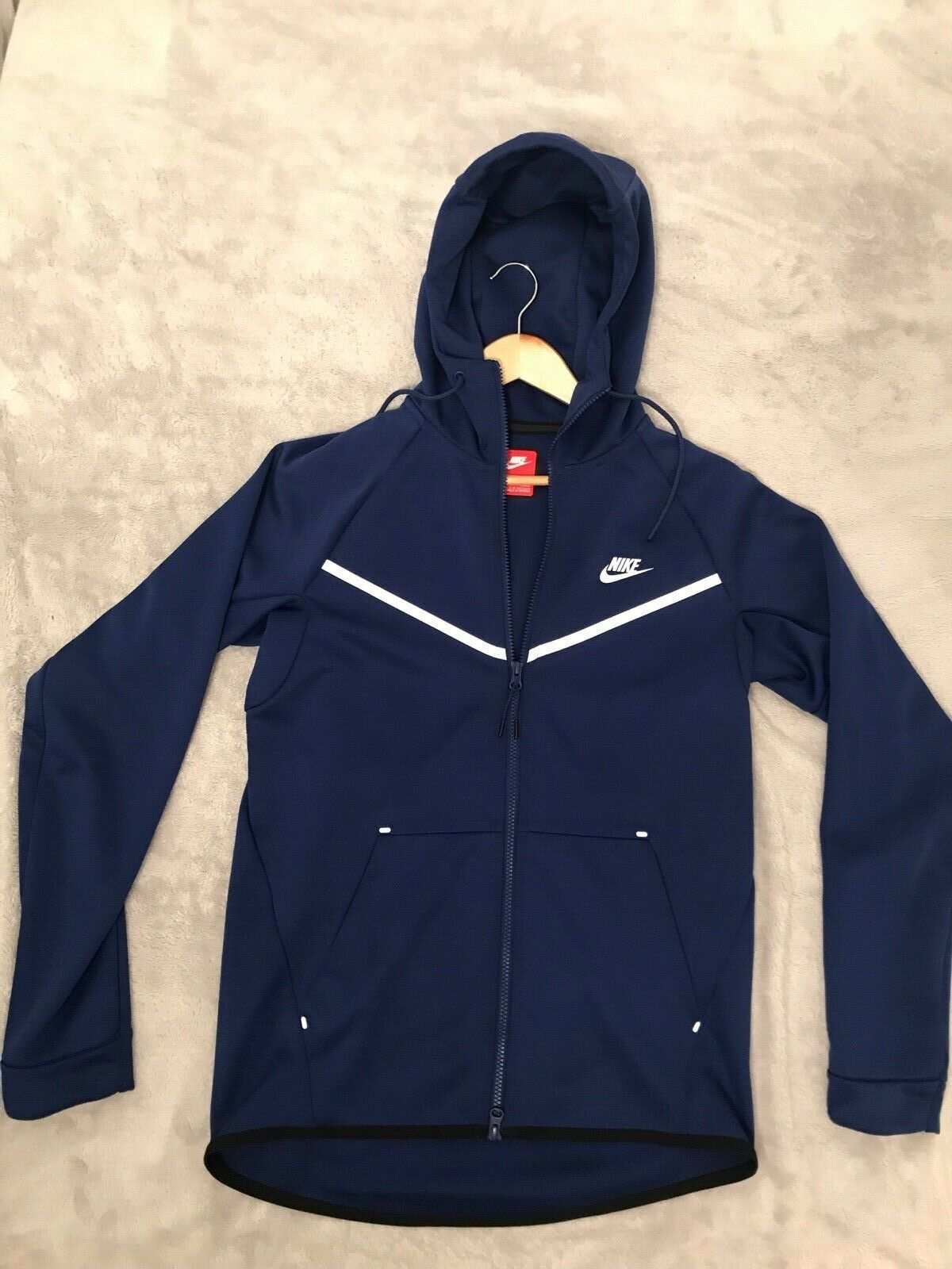 Nike Sportswear Tech Fleece Jacke (Blau)