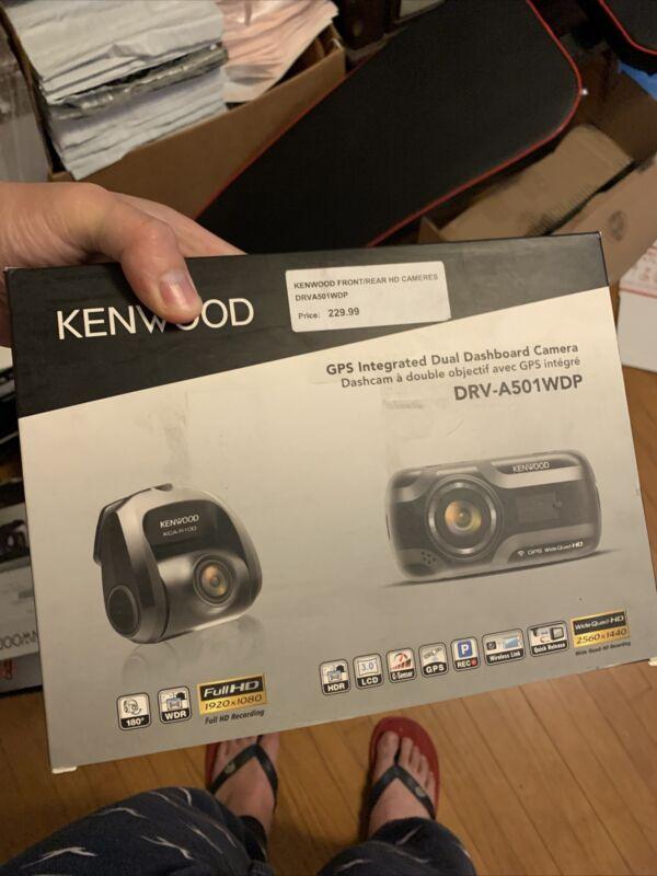 Kenwood DRV-A501WDP Dashboard Camera with Wi-Fi