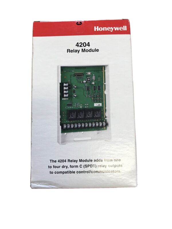 NEW (Sealed) Honeywell 4204 Relay Module