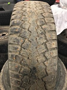 245/75/16 used studded winter truck tires
