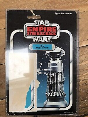 Star Wars Palitoy Fx-7 45b Card Back ( Trilogo Bubble ) Rare