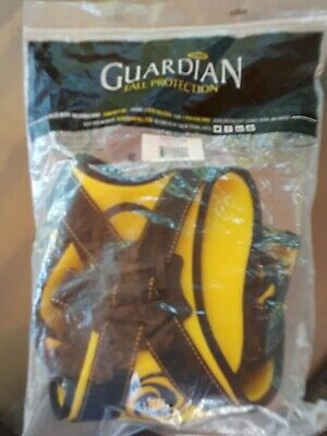 New Guardian 21042 Cyclone Harness Fall Protection Bkyellow Ml New In Bag