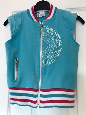 Girls/boys Genuine Young Versace Waistcoat Size 5 Years Old