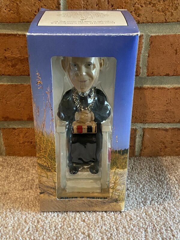 David Souter Bobblehead Green Bag Supreme Court Justice - brand new in box