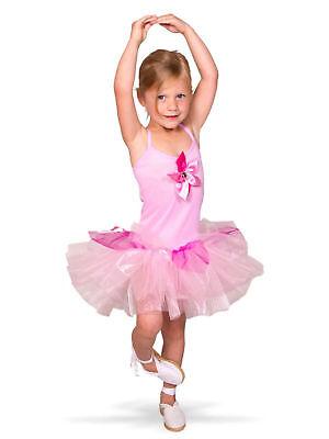 Kostüm für Kinder Ballerina-Kleid (Ballerina Kleid Kostüm)