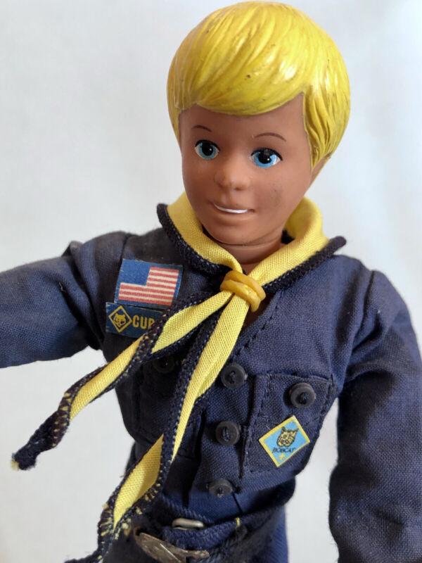 "Rare Vintage 1970's KENNER CUB SCOUT CRAIG Action Figure Doll 9"""