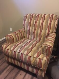 Love seat and two chairs