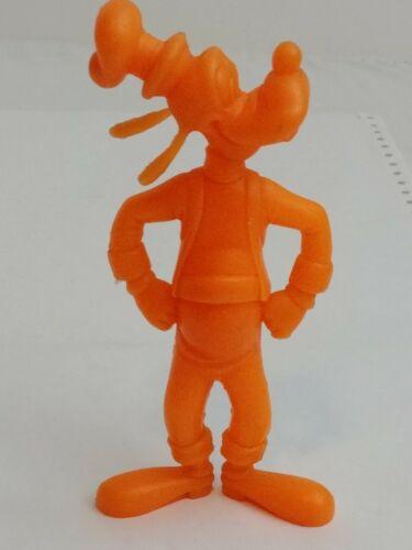 Louis Marx Vintage Orange GOOFY Figurine 1971 Walt Disney Plastic Figure Toy