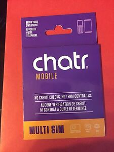 CHATR Mobile Multi Sim