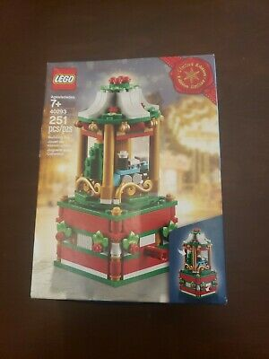 LEGO CHRISTMAS CAROUSEL 2018 LIMITED EDITION SET #40293 NEW in Box