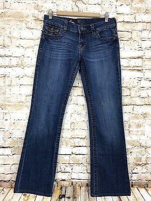 KUT From The Kloth Kate Lowrise Bootcut So Low Flap Pocket Jeans Women's 6 *read Kate Bootcut Jeans