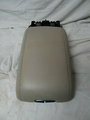 10 11 12 Cadillac SRX Armrest Center Console Arm Rest OEM Tan 2010 2011 2012