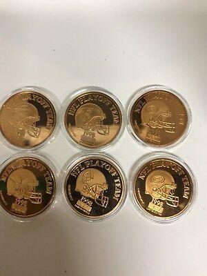 Super Bowl XXXIII Flip Coin/Medallion NFL Playoff - Nfl Coin Flip