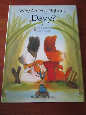 E1689) KINDERBUCH WHY ARE YOU FIGHTING DAVY? THARLET ENGLISCHE SPRACHE EA 1999
