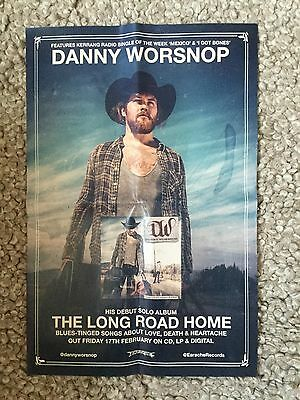 Danny Worsnop - The Long Road Home  Promo poster (mint)