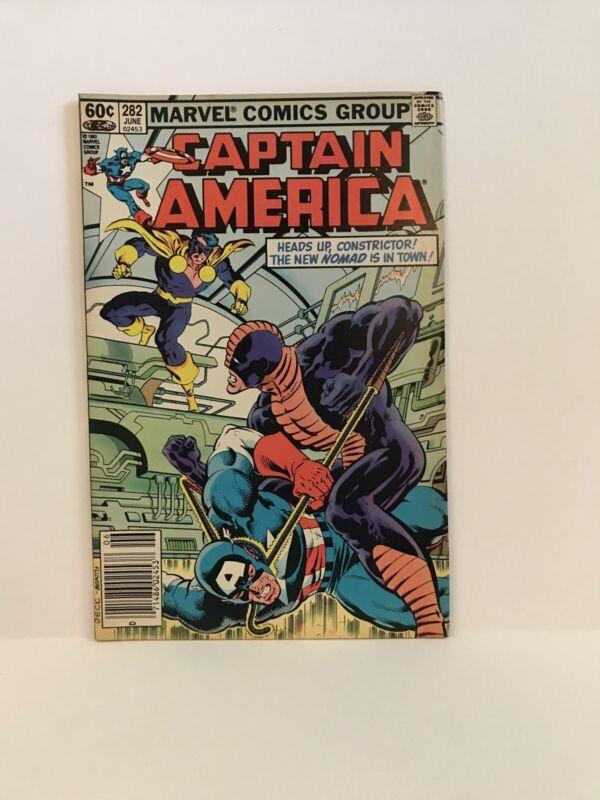 Captain America #282