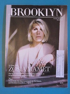 Brooklyn Magazine Winter 2015 Zosia Mamet