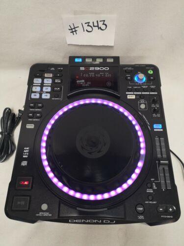 DENON DJ DN-SC2900 DIGITAL CONTROLLER & MEDIA PLAYER #1343 GREAT USED CONDITION