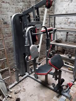 Gym multi station lifespan fitness - home gym